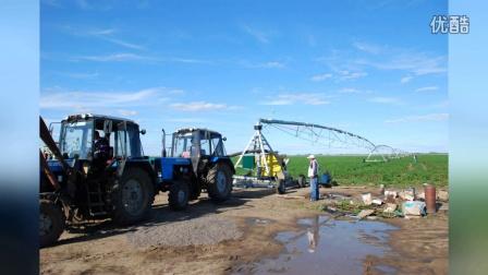 Rainfine Towable pivot in Khazakhstan(银帆拖移式的喷灌机在哈萨克斯坦共和国)