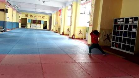 6岁女儿五步拳。