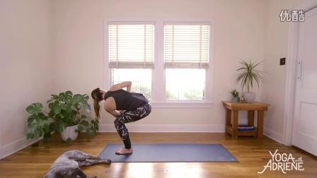 清晨瑜伽系列腰腿部抻拉10分钟训练法