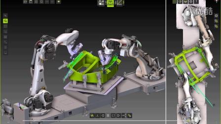 多机器人编程 数字工厂软件FASTSUITE