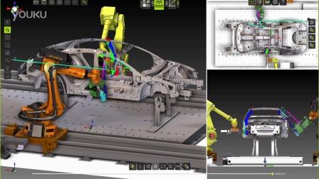多机器人点焊仿真 数字工厂软件FASTSUITE