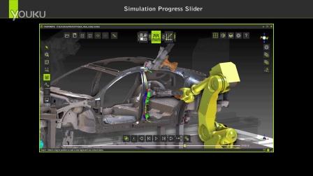 机器人前后滑动 数字工厂软件FASTSUITE