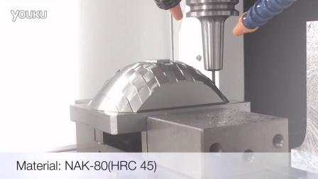 协鸿 TGV-128搭载Hartrol plus控制器切削影片