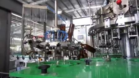 BGF16-16-6玻璃瓶啤酒冲洗灌装压盖三合一体机