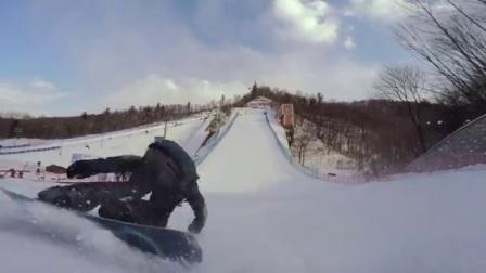世锦赛瑞典名将Sven空中技巧!