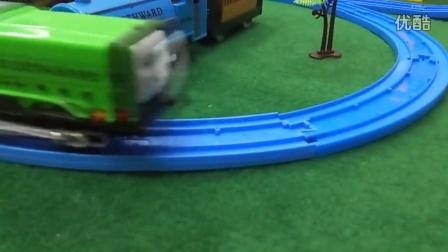 166【欢乐小火车】儿童托马斯火车电动轨道套装 托马斯和他的朋友们  托马斯小火车儿童磁性车模玩具 托马斯车头车厢组合