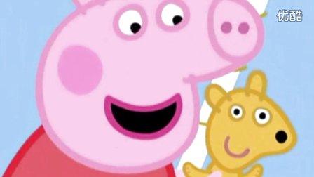 粉红猪小妹在天空飞行,坐着气球上天的小猪佩奇会看到什么?