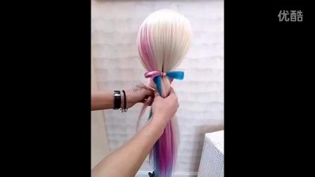 很简单的发型
