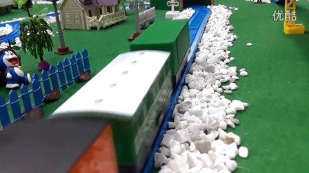 171【欢乐小火车】托马斯火车视频 托马斯和朋友合金小火车玩具车 托马斯和他的朋友们