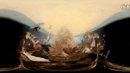 Bruegel_ a fall with the Rebel Angels [Virtual Reality]