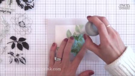 Vellum Overlay Card + Altenew Ink Layering Combinations