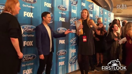 David Archuleta arriving at The American Idol Series Finale