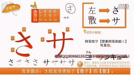 第三讲 日语五十音图日语发音日语入门学习日语零基础学日本语基础日语
