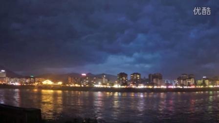 雅安雨前美景