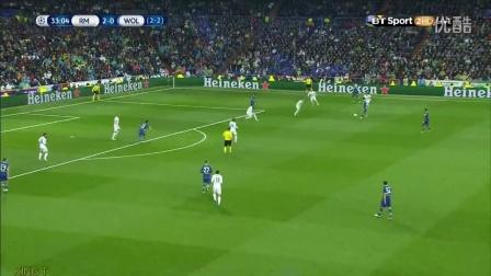 【欧冠经典】1516欧冠四分之一决赛2  皇家马德里3-0沃尔夫斯堡【720P】(C罗帽子戏法)