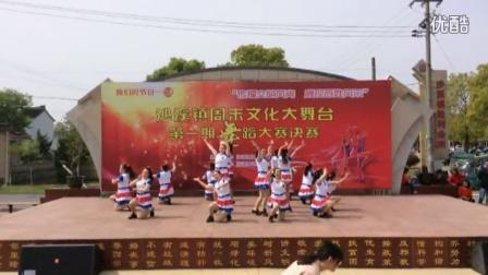 太仓沙溪胜利广场舞《康电情歌》沙溪镇周末文化舞蹈比赛二等奖
