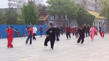 滨州颐园太极剑演练