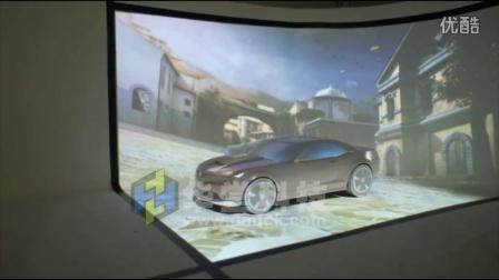 K02-车模异形投影