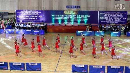 """全国拉丁舞比赛开幕式锦绣城表演广场舞""""一起来"""""""