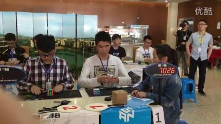 张国斌三阶速拧13.48S