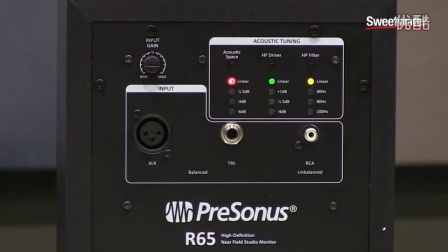 PreSonus R65 and R80 Monitor Speakers Overview by Sweetwater