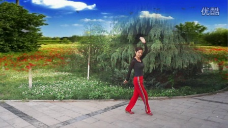 泌阳羽化广场舞  爱在草原