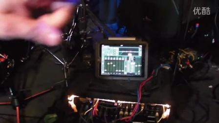 Neil Zaza and his StudioLive RM16AI—in-ear monitors, iPad control, and more