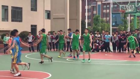 CCTV解说知源学校高一篮球比赛135VS130世纪大战!