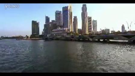 城市建筑 日景跟夜景2个高清实拍视频素材