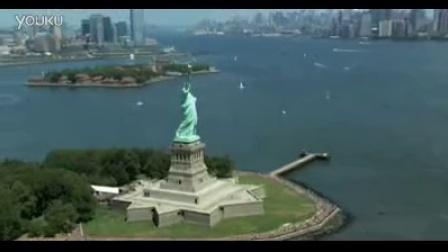 世界各地旅游景点 自由女神、斜塔与白宫夜景3个高清实拍.