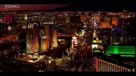 城市高楼灯光夜景1 高清实拍视频素材