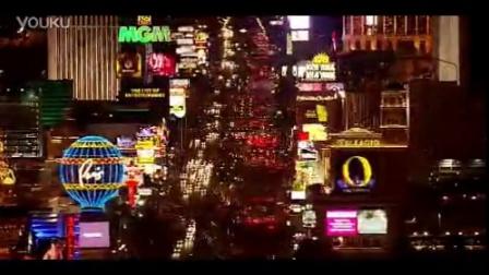 城市高楼灯光夜景街道车流2 高清实拍视频素材