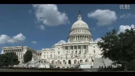 美国国会大厦大城市风貌