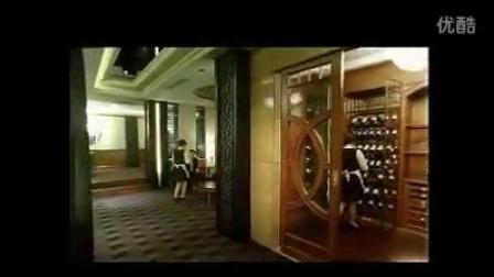 酒店豪华餐厅内景实拍 酒店餐饮业