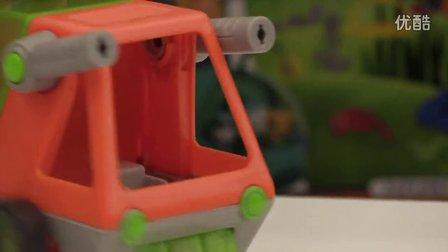 【海底小纵队】GUP-T拆箱视频 海底小纵队玩具GUP-T Vehicle Unboxing - Octonauts HQ Exclusive!
