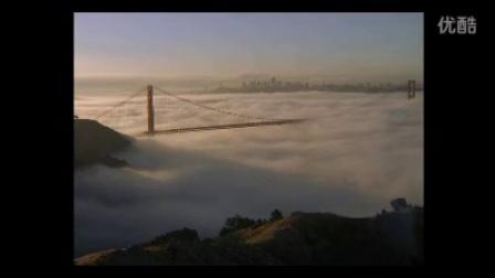 清晨云海翻滚实拍视频素材