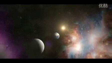 从地球云层到星球太空宇宙银河系快速镜头高清动态视频...