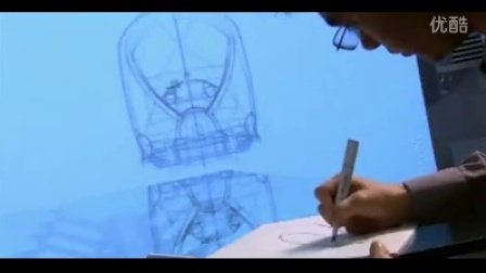 工程师手绘绘制机械图高清实拍视频素材
