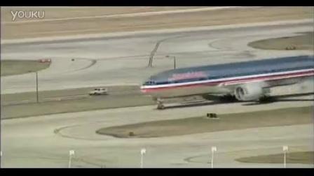 4组飞机滑轮起飞镜头 飞机飞入空中飞机飞过高清实拍视频...
