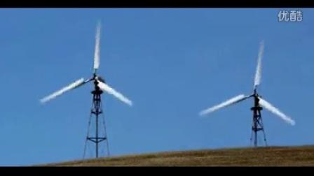 风力能源电力风车 高清实拍视频素材