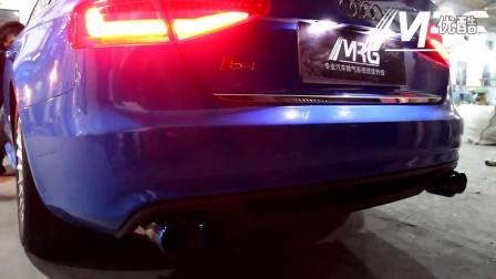 MRG排气管 奥迪A4L阀门款排气  可变排气声浪