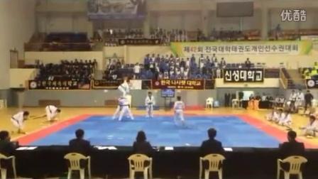 韩国拿撒勒大学跆拳道系表演团