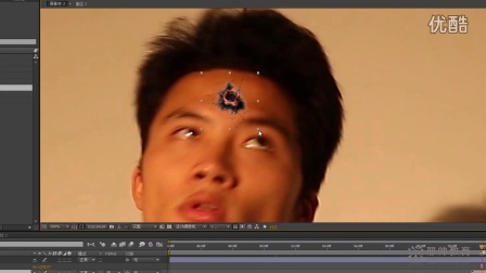 AE教程  After Effects玩转创意视频之 爆头特效 AE创意特效视频 AE基础教程 第五集