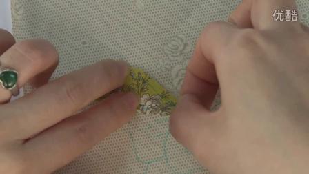 2.花鸟贴布包制作表布