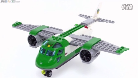 60101 积木砖家乐高LEGO City Airport Cargo Plane review!