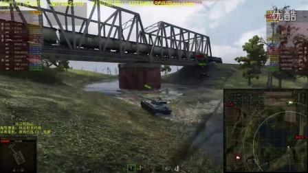坦克世界风云解说:查迪伦智商碾压62A步步推进小万伤