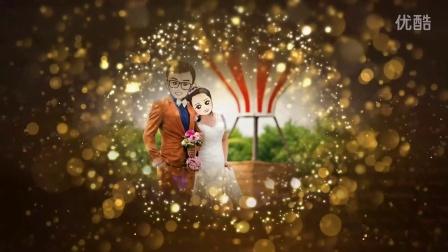 创意婚礼|金色粒子