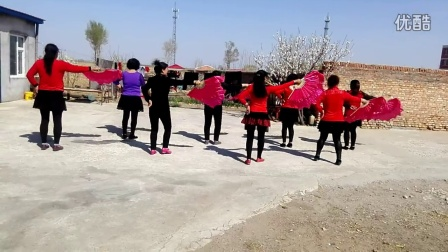 白城市通榆县新发乡舞蹈队好日子那里山那里水