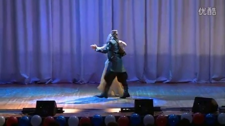 Mahdy Emara and Darina Konstantinova Orenburg 2013. International festival Al Ta