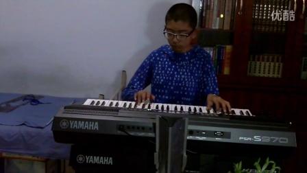 电子琴演奏  潇洒走一回
